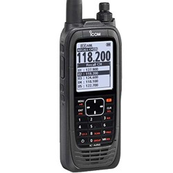 ICOM A25C Sport Handheld Airband Radio - Communication Channels Only