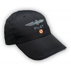 PILOT capellino Design 4 Pilots in microfibra, colore Nero, dimensione è regolabile