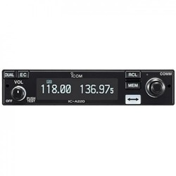 Icom ic-a220t Tso panel Mount Airband VHF Transceiver