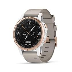 Garmin D2Delta GPS Pilot Watch, include Smartwatch features, frequenza cardiaca e musica